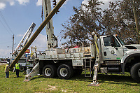 2017 FPL Hurricane Irma restoration in Cocoa Beach, Fla. on Sept. 14, 2017.
