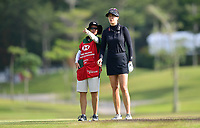 SINGAPORE - FEBRUARY 01: Sandra Gal of Germany on the 11th fairway during the second round of the HSBC Women's World Championship 2019 at Sentosa Golf Club - Tanjong Course, Singapore on March 01, 2019.<br /> .<br /> .<br /> .<br /> (Photo by: Naratip Golf Srisupab/SEALs Sports Images)<br /> .<br /> Any image use must include a mandatory credit line adjacent to the content which should read: Naratip Golf Srisupab/SEALs Sports Images