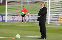 Washington Freedom Head  Coach Jim Gabarra.  Washington Freedom tied Chicago Red Stars  at The Maryland SoccerPlex,  Saturday April 11, 2009.