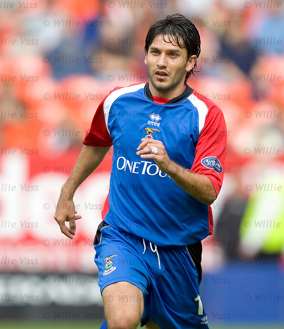 Juanjo, Inverness Caledonian Thistle.stock season 2004-2005.pic willie vass