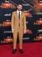 "LOS ANGELES, CA. March 04, 2019: Lee Pace at the world premiere of ""Captain Marvel"" at the El Capitan Theatre.<br /> Picture: Paul Smith/Featureflash"