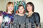 LOVE: Jennifer Griffin,Caroline O'Reilly and Lorraine O'Shea who had a great time at the Valentine Fund Raising event in the Manor West Hotel, Tralee on Saturday night.................................. ....