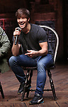 "Thayne Jasperson during The Rockefeller Foundation and The Gilder Lehrman Institute of American History sponsored High School student #eduHam matinee performance of ""Hamilton"" Q & A at the Richard Rodgers Theatre on December 5,, 2018 in New York City."