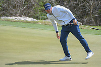 Bernd Wiesberger (AUT) attempts to help his putt on 2 during day 2 of the World Golf Championships, Dell Match Play, Austin Country Club, Austin, Texas. 3/22/2018.<br /> Picture: Golffile | Ken Murray<br /> <br /> <br /> All photo usage must carry mandatory copyright credit (&copy; Golffile | Ken Murray)