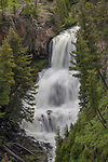 Undine Falls is in the northern part of Yellowstone.