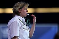 Referee DUTILH-DUMAS Diana (NED)  <br /> Budapest 12/01/2020 Duna Arena <br /> SLOVAKIA (white caps) Vs. RUSSIA (blue caps)<br /> XXXIV LEN European Water Polo Championships 2020<br /> Photo  © Andrea Staccioli / Deepbluemedia / Insidefoto
