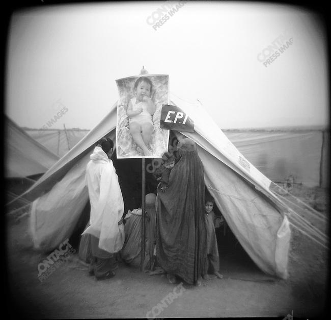 Shamshatoo, Afghan refugee camp, near Peshawar, Pakistan, March 2001