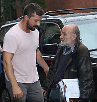 August  07, 2019.RadioMan, Shia LaBeouf at Build Series to talk about new movie The Peanut Butter Falcan in New York. August 07, 2019  <br /> CAP/MPI/RW<br /> ©RW/MPI/Capital Pictures