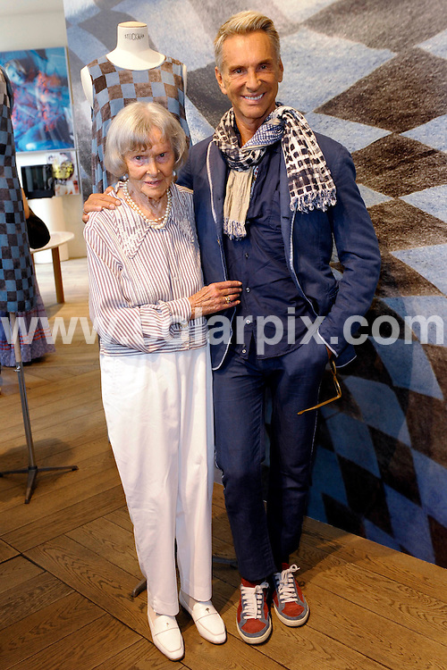 **ALL ROUND PICTURES FROM SOLARPIX.COM**.**SYNDICATION RIGHTS FOR UK AND SPAIN ONLY**.fashion designer Wolfgang Joop and his mother Charlotte pictured at his Boutique of his Label 'Wunderkind' in Berlin, Germany, during the 2009 Mercedes Benz Fashion Week in Berlin, Germany. 02 July 2009.This pic: Wolfgang Joop..JOB REF: 9407 CPR (Gottschalk) DATE: 02_07_2009.**MUST CREDIT SOLARPIX.COM OR DOUBLE FEE WILL BE CHARGED**.**ONLINE USAGE FEE GBP 50.00 PER PICTURE - NOTIFICATION OF USAGE TO PHOTO @ SOLARPIX.COM**.**CALL SOLARPIX : +34 952 811 768 or LOW RATE FROM UK 0844 617 7637**