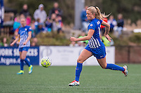 Allston, MA - Sunday, May 1, 2016:  Boston Breakers midfielder Kristie Mewis (19) in a match against the Portland Thorns at Harvard University.