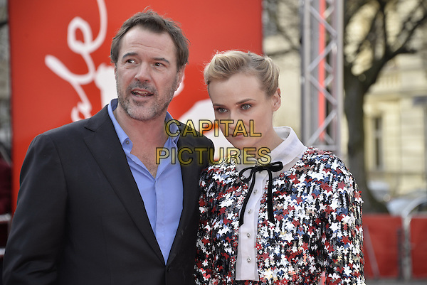 BERLIN, GERMANY - FEBRUARY 10 - Diane Kruger and Sebastian Koch attending the Galapagos Affair Premiere, at the Berlin Film Festival, on Monday, February 10, 2014<br /> <br /> CAP/AAP<br /> &copy;AAP/Capital Pictures