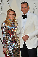 LOS ANGELES, CA. February 24, 2019: Jennifer Lopez &amp; Alex Rodriguez at the 91st Academy Awards at the Dolby Theatre.<br /> Picture: Paul Smith/Featureflash