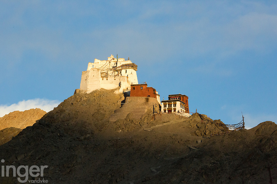 Victory Monastery above Leh, Ladakh