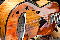 Ukulele on display at the 40th Annual Ukulele Festival