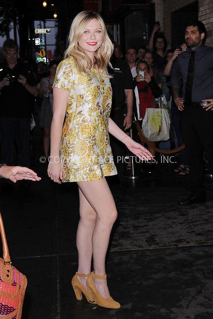 WWW.ACEPIXS.COM . . . . . .September 4, 2012...New York City....Kirsten Dunst  attends the 'Bachelorette' New York Premiere at Landmark's Sunshine Cinema on September 4, 2012 in New York City ....Please byline: KRISTIN CALLAHAN - ACEPIXS.COM.. . . . . . ..Ace Pictures, Inc: ..tel: (212) 243 8787 or (646) 769 0430..e-mail: info@acepixs.com..web: http://www.acepixs.com .
