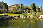 Israel, Harod valley. The Japanese garden in Kibbutz Heftziba