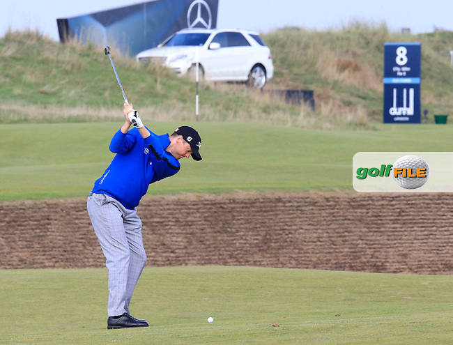 Michael Hoey (NIR) on day three of the Alfred Dunhill links Championship Old Course, St Andrews, Fife, Scotland.<br /> Picture Fran Caffrey www.golffile.ie