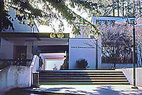 Santa Cruz CA:  Adlai E. Stevenson College-Entrance. Esherick, Homsey, Dodge & Davis--completed 1966.