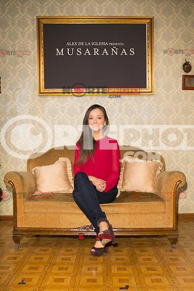 """Lucia de la Fuente attend the presentation of the movie """"Musaranas"""" in Madrid, Spain. December 17, 2014. (ALTERPHOTOS/Carlos Dafonte) /NortePhoto /NortePhoto.com"""