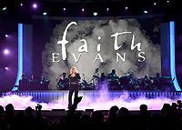 LAS VEGAS, NEVADA - NOVEMBER 17: Faith Evans performs onstage during the 2018 Soul Train Awards at the Orleans Arena on November 17, 2018 in Las Vegas, Nevada. (Photo by Frank Micelotta/PictureGroup)