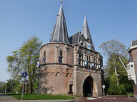 Cellebroederspoort in Kampen. Oude stadspoort