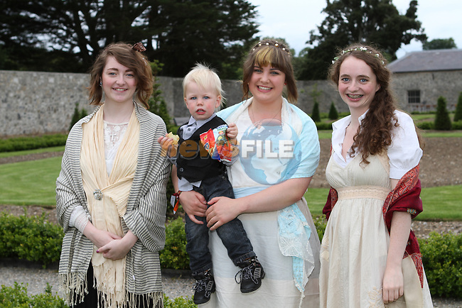 Mary Martin, Joshua Hellier, Tara Hellier and Anne Martin at the Outdoor Production of Pride and Prejudice at Oldbridge.....(Photo credit should read Jenny Matthews/NEWSFILE)....This Picture has been sent you under the condtions enclosed by:.Newsfile Ltd..The Studio,.Millmount Abbey,.Drogheda,.Co Meath..Ireland..Tel: +353(0)41-9871240.Fax: +353(0)41-9871260.GSM: +353(0)86-2500958.email: pictures@newsfile.ie.www.newsfile.ie.FTP: 193.120.102.198.