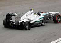 SAO PAULO, SP, 24.11.2013 - F1 GP BRASIL - O piloto britanico Lewis Hamilton da equipe Mercedes GP durante Grande Prêmio do Brasil de Fórmula 1, no autódromo de Interlagos, zona sul da capital paulista, neste domingo (24). (Foto: Pixathlon / Brazil Photo Press).