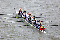 Crew: 105   Maidstone Invicta     A<br /> <br /> Eights Head of the River (HoRR) 2018<br /> <br /> To purchase this photo, or to see pricing information for Prints and Downloads, click the blue 'Add to Cart' button at the top-right of the page.