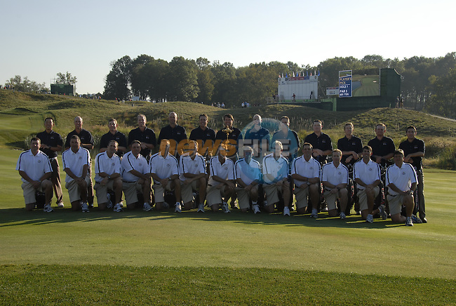 USA Team Photo for the 37th Ryder Cup at Valhalla Golf Club, Louisville, Kentucky, USA, 17th September 2008 (Photo by Eoin Clarke/GOLFFILE)