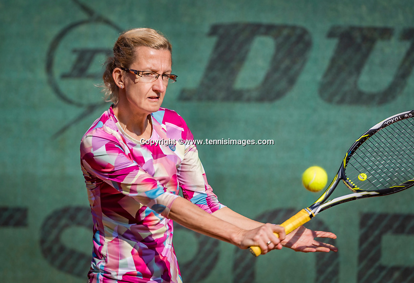 Hilversum, The Netherlands, September 2, 2018,  Tulip Tennis Center, NKS, National Championships Seniors, Womans 35+ final: Regina Balcune (NED)<br />