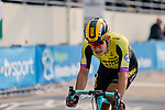 Wout Van Aert (BEL) Team Jumbo-Visma crosses the finish line in the Roubaix Velodrome at the end of the 117th edition of Paris-Roubaix 2019, running 257km from Compiegne to Roubaix, France. 14th April 2019<br /> Picture: Thomas van Bracht/PelotonPhotos.com | Cyclefile<br /> All photos usage must carry mandatory copyright credit (&copy; Cyclefile | Thomas van Bracht/PelotonPhotos.com)