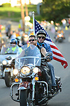 Bikers in the 2014 911 Memorial Bike Ride in Montgomery, PA.