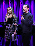 Kerry Butler and Rob McClure during Broadway's 'Beetlejuice' - First Look Presentation at Subculture  on February 28, 2019 in New York City.