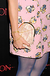HOLLYWOOD, CA - AUGUST 28: Lucy Lawless (handbag detail) at the 'The Possession' - Los Angeles Premiere at ArcLight Cinemas on August 28, 2012 in Hollywood, California.