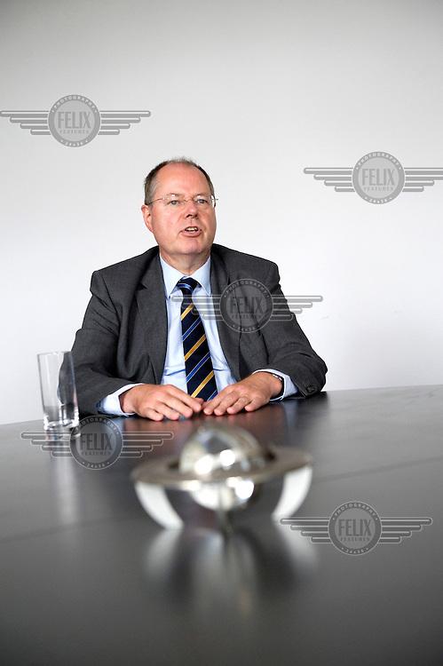 Peer Steinbrueck, Federal Minister of Finance.