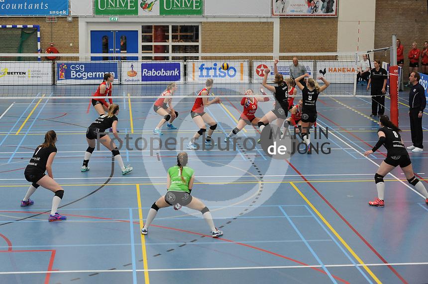 VOLLEYBAL: SNEEK: 19-04-2017, VC Sneek - Alterno, uitslag 3-2, ©foto Martin de Jong