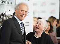 "20 November 2019 - Hollywood, California - Clint Eastwood, Barbara ""Bobi"" Jewell. 2019 AFI Fest - ""Richard Jewell"" Los Angeles Premiere<br />  held at TCL Chinese Theatre. Photo Credit: Birdie Thompson/AdMedia"