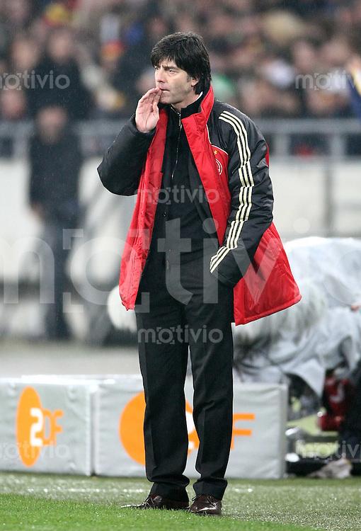 FUSSBALL  INTERNATIONAL  DEUTSCHE NATIONALMANNSCHAFT Trainer Joachim LOEW (Deutschland)