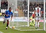 03.11.18 St Mirren v Rangers: Alfredo Morelos celebrates his goal