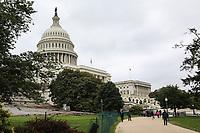 WASHINGTON, DC, 25.05.2017 - TURISMO-USA- Vista do Capitólio dos Estados Unidos, o prédio que serve como centro legislativo do governo dos Estados Unidos. O Capitólio é o local de reunião do Congresso estadunidense, formado pelo Senado e pela Câmara dos Representantes. (Foto: Vanessa Carvalho/Brazil Photo Press)