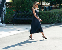 First lady Melania Trump departs the White House, August 7, 2019 to visit El Paso, TX and Dayton Ohio after recent shootings in those cities. <br /> CAP/MPI/RS<br /> ©RS/MPI/Capital Pictures