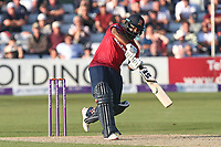 Ashar Zaidi in batting action for Essex during Essex Eagles vs Yorkshire Vikings, Royal London One-Day Cup Play-Off Cricket at The Cloudfm County Ground on 14th June 2018