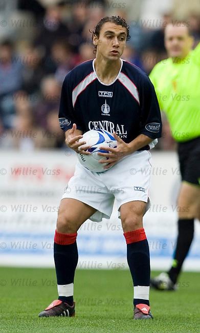 Vitor Lima, Falkirk.stock season 2005-2006.pic willie vass