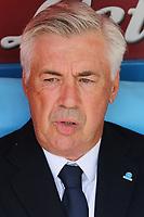 Carlo Ancelotti coach of Napoli<br /> Napoli 29-9-2019 Stadio San Paolo <br /> Football Serie A 2019/2020 <br /> SSC Napoli - Brescia FC<br /> Photo Cesare Purini / Insidefoto