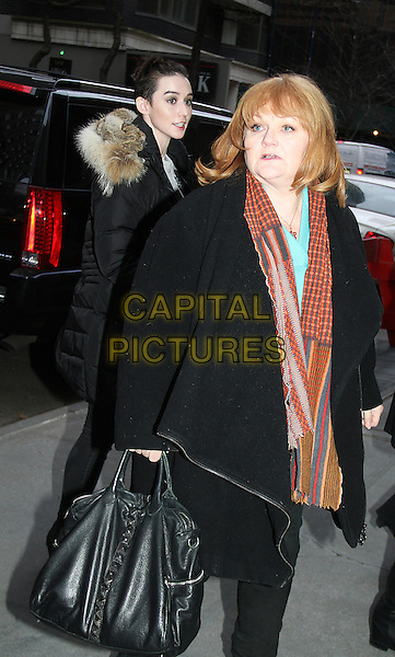 December 08, 2014: Lesley Nicol  at the View to talk about new season of Downton Abbey in New York.  <br /> CAP/MPI/RW<br /> &copy;RW/ MediaPunch/Capital Pictures