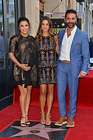 Eva Longoria, Stepdaughter &amp; Jose Baston at the Hollywood Walk of Fame Star Ceremony honoring actress Eva Longoria, Los Angeles, USA 16 April 2018<br /> Picture: Paul Smith/Featureflash/SilverHub 0208 004 5359 sales@silverhubmedia.com