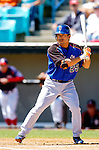 15 March 2006: Kazuo Matsui, infielder for the New York Mets, at bat during a Spring Training game against the Washington Nationals. The Mets defeated the Nationals 8-5 at Space Coast Stadium, in Viera, Florida...Mandatory Photo Credit: Ed Wolfstein..