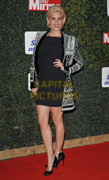 Ashley Roberts attends the Daily Mirror Pride of Sport Awards 2015, Grosvenor House Hotel, Park Lane, London, England, UK, on Wednesday 25 November 2015. <br /> CAP/CAN<br /> &copy;Can Nguyen/Capital Pictures