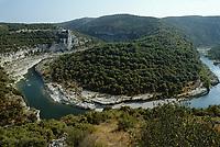 Europe/France/Rhone-Alpes/07/Ardéche /Gorges de l'Ardéche depuis le Belvédère du Colombier