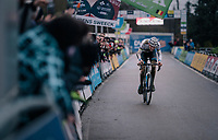 race leader VAN DER POEL Mathieu (NED/Corendon-Circus) racing towards the finish line, fighting for every second > to be able to become the new DVV Series overall leader<br /> <br /> GP Sven Nys (BEL) 2019<br /> DVV Trofee<br /> ©kramon